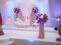 Asian Wedding Stage Decorations